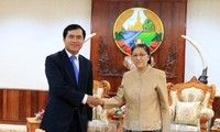 Việt Nam xúc tiến dự án xây dựng tòa nhà Quốc hội Lào