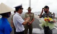 Tàu chiến Hải quân Australia thăm hữu nghị các địa phương ở Việt Nam