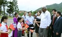 Đoàn đại biểu cấp cao của Quốc hội Cuba thăm và làm việc tại tỉnh Sơn La