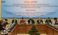 Bí thư Thành ủy thành phố Hồ Chí Minh Nguyễn Thiện Nhân tiếp Chủ tịch Quốc hội Cu Ba
