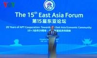 Việt Nam đồng chủ trì Diễn đàn Đông Á lần thứ 15 hướng tới xây dựng Cộng đồng Kinh tế Đông Á