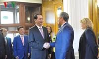 Chủ tịch nước Trần Đại Quang hội kiến với Chủ tịch Duma quốc gia Nga V. Volodin