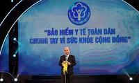 Thủ tướng Nguyễn Xuân Phúc:Phấn đấu đạt mục tiêu đến năm 2020 trên 90% dân số tham gia bảo hiểm y tế