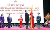 Chủ tịch nước Trần Đại Quang: Lào Cai cần phấn đấu trở thành tỉnh phát triển của khu vực Tây Bắc