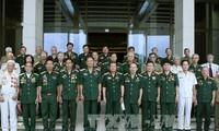 Phó Chủ tịch Quốc hội Đỗ Bá Tỵ gặp mặt Hội Truyền thống bộ đội Trường Sơn