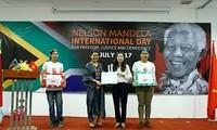Lãnh sự Nam Phi tại thành phố Hồ Chí Minh kỷ niệm Ngày Quốc tế Nelson Mandela