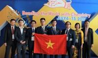 Việt Nam đạt thành tích cao nhất từ trước đến nay tại Olympic Hóa học quốc tế năm  2017