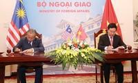 Việt Nam và Malaysia tăng cường hợp tác toàn diện