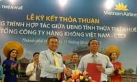 Vietnam Airlines quảng bá hình ảnh, điểm đến của du lịch Huế