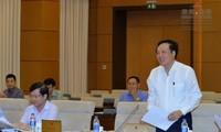 Thông qua Nghị quyết về việc thành lập Tòa án,Viện kiểm sát nhân dân thành phố Sầm Sơn, Thanh Hóa