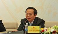 Phó Chủ tịch Quốc hội Phùng Quốc Hiển tiếp xúc cử tri tại Lai Châu