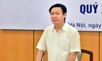 Phó Thủ tướng Vương Đình Huệ chủ trì cuộc họp Hội đồng tư vấn chính sách tài chính, tiền tệ quốc gia
