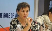Trưởng Ban Kinh tế Trung ương Nguyễn Văn Bình tiếp Lãnh đạo sáng kiến 2020 về Biến đổi khí hậu