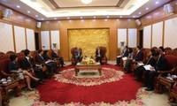 Trưởng Ban Kinh tế Trung ương Nguyễn Văn Bình tiếp Đoàn Cán bộ của Quỹ Tiền tệ Quốc tế (IMF)