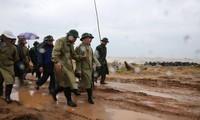 Phó Thủ tướng Trịnh Đình Dũng chỉ đạo công tác phòng chống bão Damreytại Phú Yên