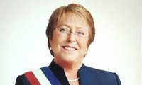 Tổng thống nước Cộng hòa Chile Michelle Bachelet Jeria sẽ thăm cấp Nhà nước tới Việt Nam