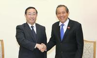 Bộ Công an hai nước Việt Nam và Trung Quốc tăng cường hợp tác