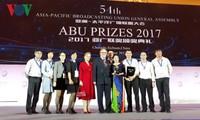VOV nhận giải thưởng phát thanh của ABU