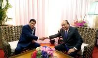 Hội nghị Cấp cao ASEAN 31: Thủ tướng Nguyễn Xuân Phúc gặp Thủ tướng Nga và Tổng thống Philippines