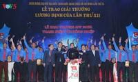86 nhà nông trẻ nhận Giải thưởng Lương Định Của lần thứ XII năm 2017