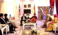 Đoàn đại biểu Đảng Cộng sản Việt Nam tham dự đại hội đảng cầm quyền tại Malaysia