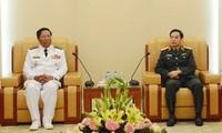 Tăng cường hợp tác giữa hải quân Việt Nam và hải quân Campuchia