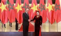 Việt Nam coi trọng phát triển quan hệ hữu nghị và hợp tác nhiều mặt với Ma rốc