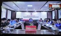 Hội nghị trực tuyến toàn quốc học tập, quán triệt Nghị quyết Đại hội đại biểu toàn quốc Đoàn TNCSHCM