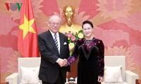 Chủ tịch Quốc hội tiếp cố vấn đặc biệt Liên minh Nghị sĩ hữu nghị Nhật- Việt