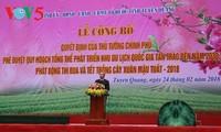 Công bố Quy hoạch tổng thể phát triển Khu du lịch quốc gia Tân Trào- Tuyên Quang