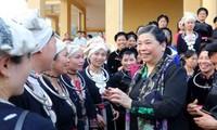 Phó Chủ tịch Quốc hội Tòng Thị Phóng thăm, làm việc tại tỉnh Tuyên Quang