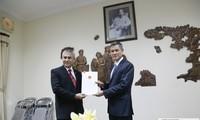 Trao giấy chấp thuận lãnh sự cho Tổng Lãnh sự Indonesia mới tại Thành phố Hồ Chí Minh