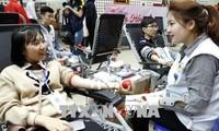 Hơn 10.200 đơn vị máu được tiếp nhận trong Lễ hội Xuân Hồng 2018