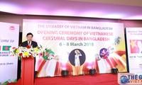 """Sôi nổi """"Những ngày văn hóa Việt Nam tại Bangladesh"""""""