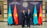 Bộ trưởng Bộ Công an Tô Lâm thăm và làm việc tại Cộng hòa Kazakhstan