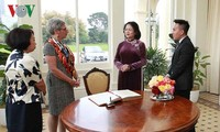 Phó Chủ tịch nước Đặng Thị Ngọc Thịnh gặp song phương lãnh đạo bang Victoria (Australia)