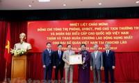 Lãnh đạo Đảng, Chính phủ Lào tiếp đoàn đại biểu cấp cao Quốc hội Việt Nam