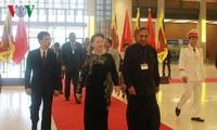 Chủ tịch Quốc hội Nguyễn Thị Kim Ngân hội đàm với Chủ tịch Quốc hội Sri Lanka