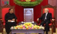 Tổng Bí thư Nguyễn Phú Trọng tiếp Chủ tịch Quốc hội Sri Lanka