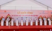 Phó Thủ tướng Vương Đình Huệ dự khởi công nhà máy gỗ ván sợi MDF tại Nghệ An