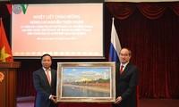 Bí Thư thành ủy Thành phố Hồ Chí Minh Nguyễn Thiện Nhân thăm và làm việc tại Liên bang Nga