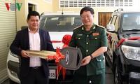 Việt Nam góp phần xây dựng đất nước Campuchia ngày càng phồn vinh, giàu đẹp