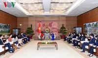 Chủ tịch Quốc hội tiếp Phó Chủ tịch Ngân hàng Thế giới vùng châu Á -Thái Bình Dương