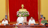 Tổng Bí thư Nguyễn Phú Trọng dự Hội nghị Ban Thường vụ Đảng ủy Công an Trung ương