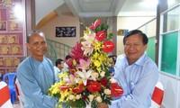 Vĩnh Long: Chúc mừng 79 năm Ngày khai sáng đạo Phật giáo Hòa Hảo
