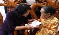 Phó Chủ tịch nước thăm Trung tâm điều dưỡng thương binh Lạng Giang