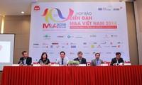 Họp báo Diễn đàn Mua bán- sáp nhập doanh nghiệp Việt Nam 2018