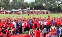 Tình nguyện viên, thanh niên Chữ thập đỏ - Hành động vì cộng đồng