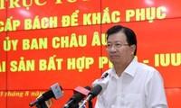"""Triển khai tổng thể các giải pháp nhằm tháo gỡ """"thẻ vàng"""" cho thủy sản Việt Nam"""