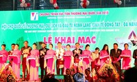 Khai mạc Hội chợ quốc tế Thương mại, Du lịch và Đầu tư hành lang kinh tế Đông Tây Đà Nẵng